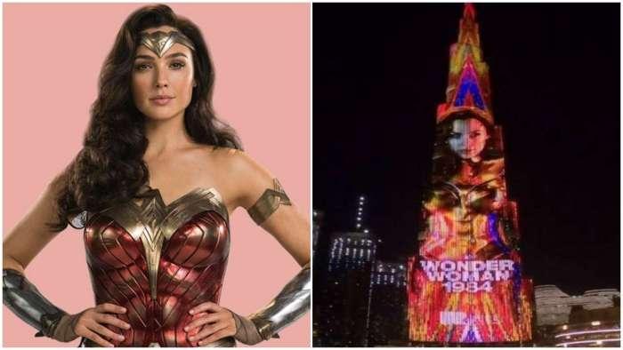 After Shah Rukh Khan, Gal Gadot illuminates Burj Khalifa ahead of 'Wonder Woman 1984' release