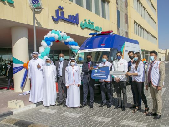 Dubai's Aster volunteers launch mobile medical services for Sudan