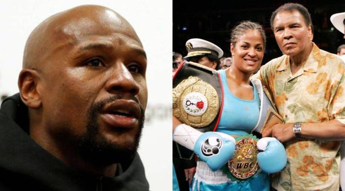 Floyd Mayweather, Laila Ali, elected to Boxing Hall of Fame
