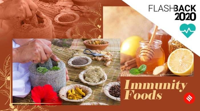 Immunity-boosting foods that kept us healthy amid pandemic