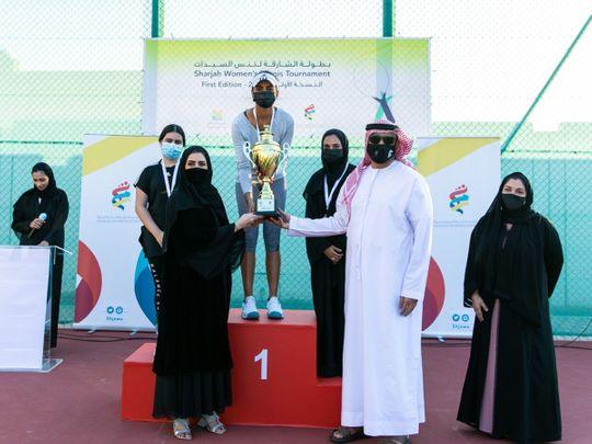 India's Riya Matharoo claims Sharjah Women's Tennis Championships crown
