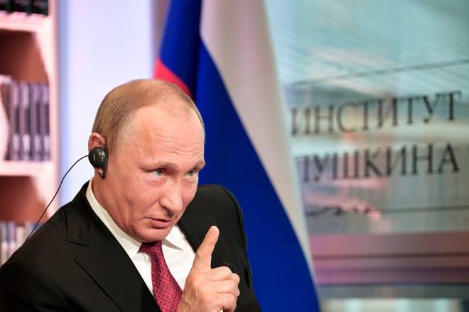 Russian leader Vladimir Putin congratulates Joe Biden on winning U.S. election