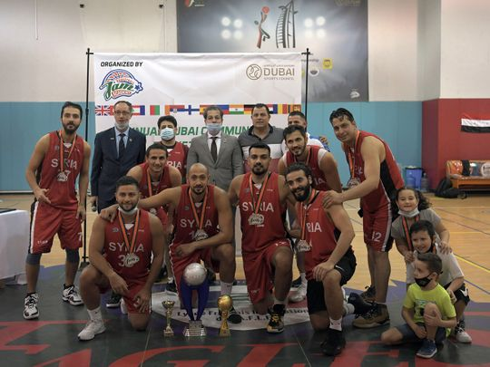 Syria defeat Serbia to win Dubai Community Basketball Cup