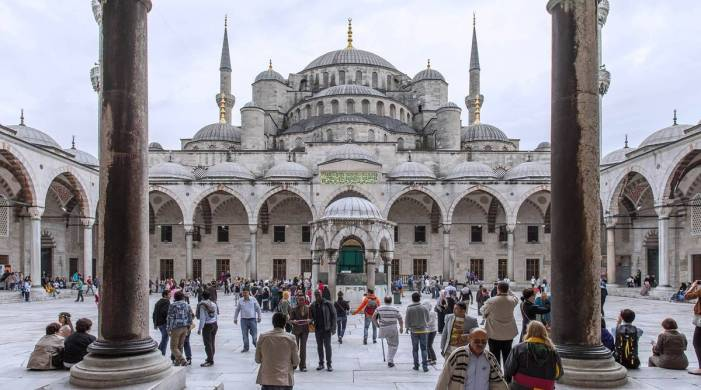 Tourists in Turkey can roam freely, but locals are in lockdown