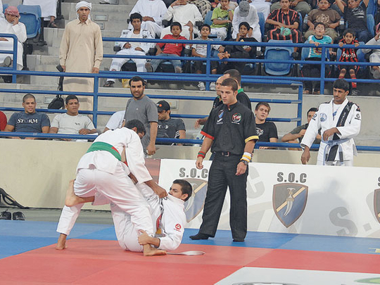 UAE jiu-jitsu tune-up on Saturday ahead of new season