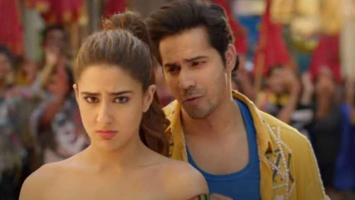Varun Dhawan-Sara Ali Khan's number is full-on entertainment