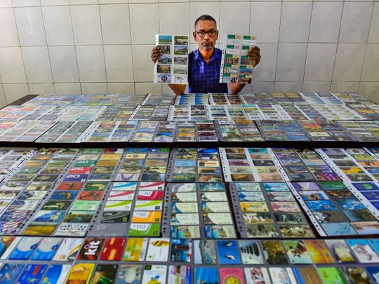 Watch: Why did this Indian driver in Dubai keep 4,000 telephone cards with him?