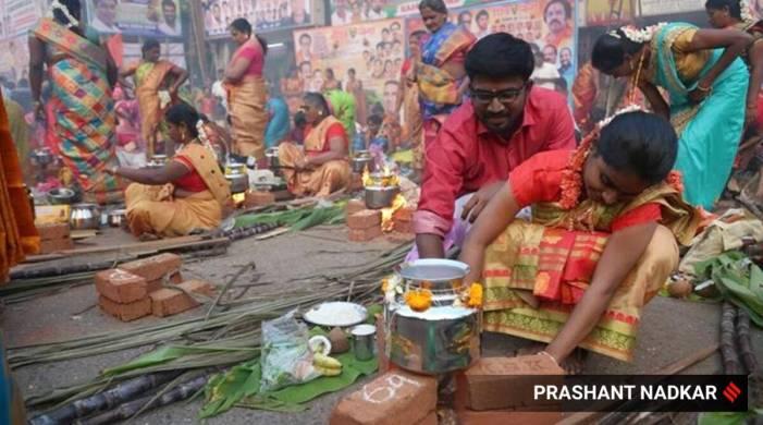 When is Pongal in Karnataka, Telangana, Andhra Pradesh, Tamil Nadu in 2021?