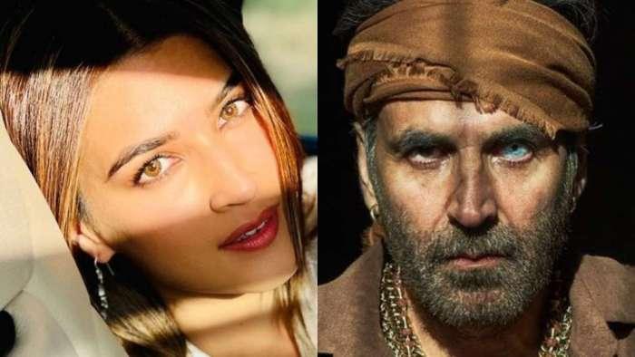 Akshay Kumar turns photographer for Kriti Sanon on 'Bachchan Pandey' sets, captures her character 'Myra'