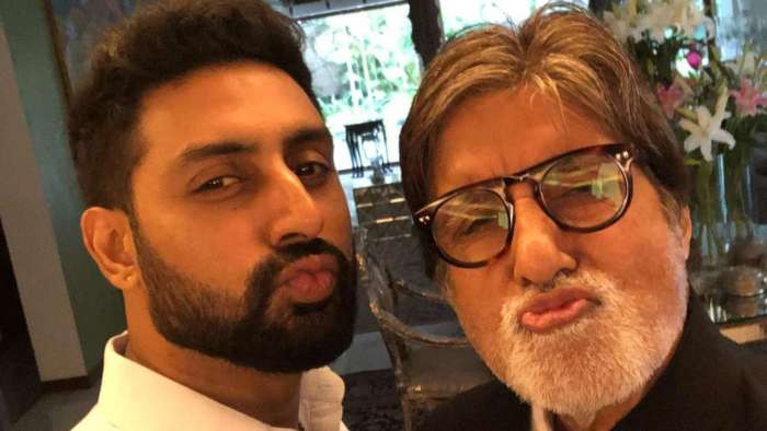 Amitabh Bachchan has the sweetest wish for son Abhishek Bachchan on his 45th birthday