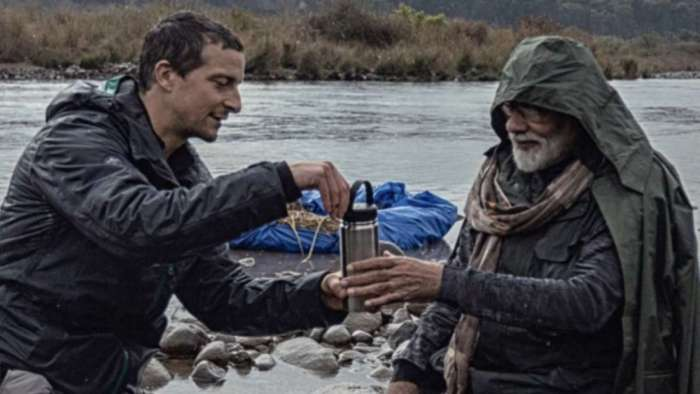 Bear Grylls posts photo sharing tea with PM Modi, reveals one promise he made to Indian Secret Service