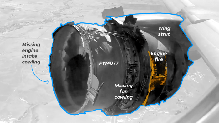 Boeing 777 grounding explained visually: Pratt and Whitney engine failure involved in two incidents on same day