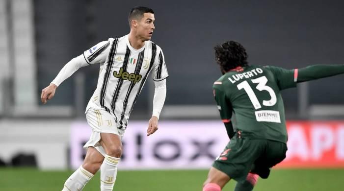 Cristiano Ronaldo double helps Juventus cruise past Crotone to go third
