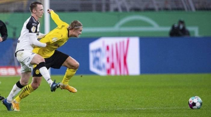 Dortmund survives VAR drama, Leverkusen upset in German Cup