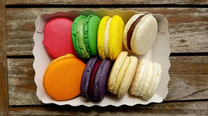 Enjoy eggless macarons with this delicious recipe
