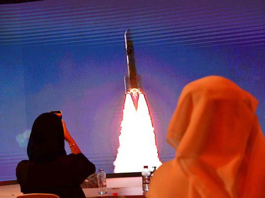 Hope Probe: Jordan landmarks turn red to celebrate UAE mission