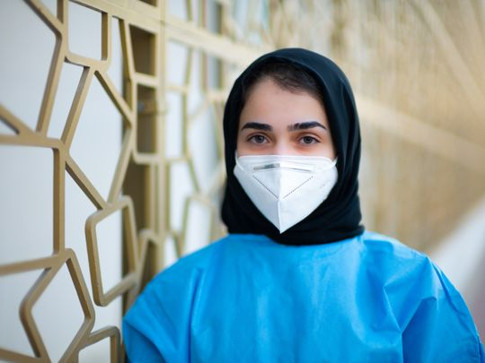 Jordanian medical student stood by patients' families in UAE, worked at COVID quarantine centre