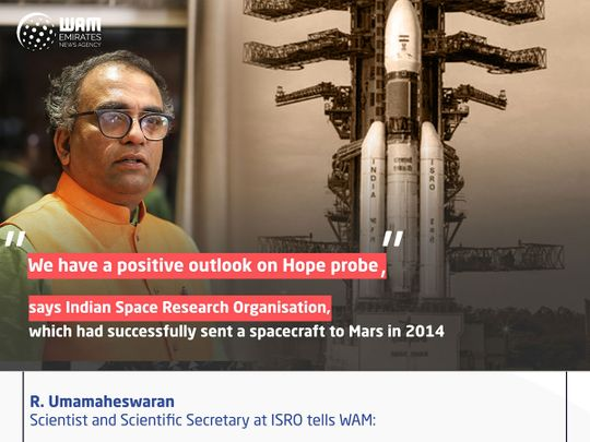 Just hours before moment of truth, Indian Space Research Organisation expects Hope Probe's success