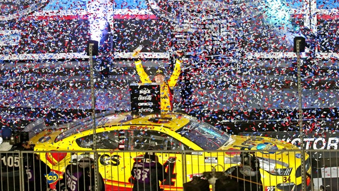 Michael McDowell emerges with Daytona 500 victory after massive crash on final lap