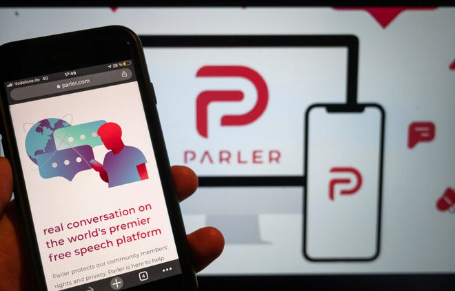 Parler relaunches under new CEO after free-speech site was deplatformed amid Capitol riot