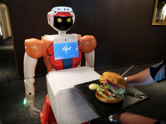 Robots at reception: South African hotel turns to machines to beat COVID-19 pandemic
