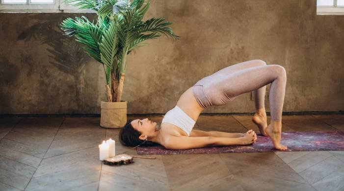 Suffering from lower body pain? Try these three simple asanas with a blanket