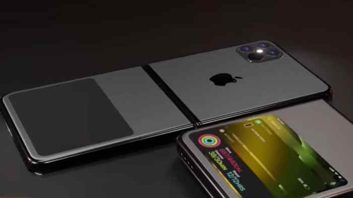 This is how Apple's first foldable iPhone might be like