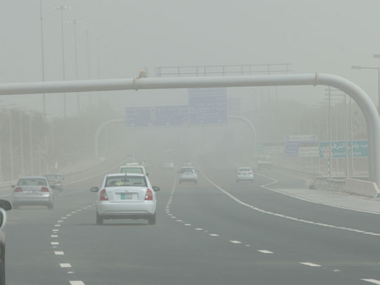 UAE: Haze and dust to reduce visibility in parts of Abu Dhabi, partly cloudy skies in Dubai, Sharjah and other emirates