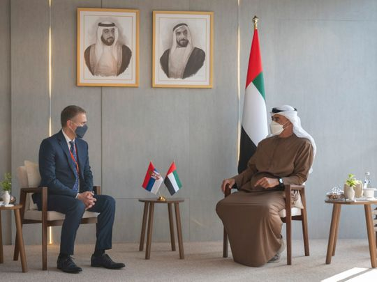 UAE: Mohamed bin Zayed receives Serbia, Cyprus defence ministers