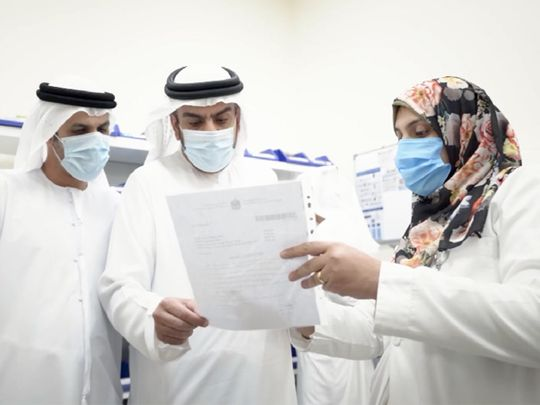 Video: UAE health ministry officials inspect centres in Dubai, Fujairah and Ras Al Khaimah