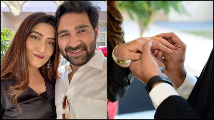 'Yeh Hai Mohabbatein' fame Shireen Mirza gets perfect, romantic proposal from beau Hasan Sartaj on Valentine's Day