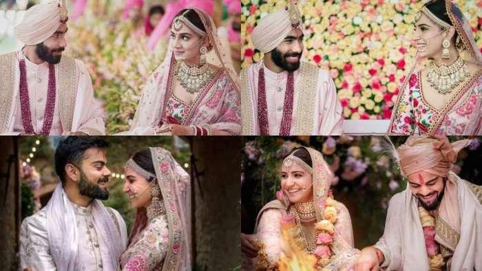 Netizens highlight similarities between Jasprit Bumrah-Sanjana Ganesan, Virat Kohli-Anushka Sharma wedding