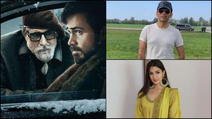 'We have decided not to talk about Rhea Chakraborty at this moment': 'Chehre' producer Anand Pandit