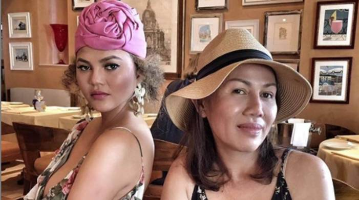 Chrissy Teigen was 'embarrassed' by her mom's Thai food as a child