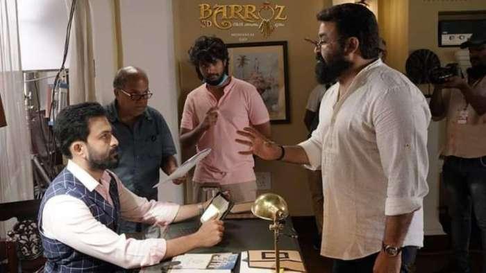 Mohanlal directs Prithviraj Sukumaran in 'Barroz' after latter donned director's hat for 'Lucifer'