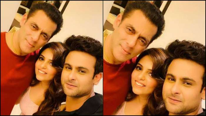 When Salman Khan hosted dinner for soon-to-be-married couple Sanket Bhosale-Sugandha Mishra
