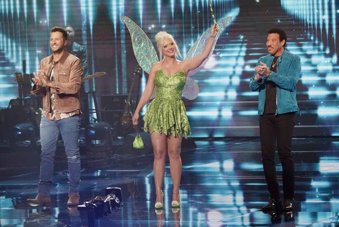'American Idol': Katy Perry borrows Orlando Bloom's ears for Tinker Bell fit, top 7 revealed