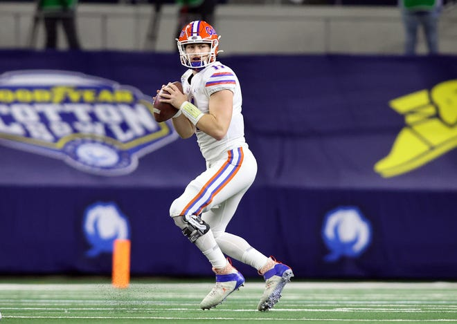 Buccaneers pick possible Tom Brady successor in Florida QB Kyle Trask during NFL draft