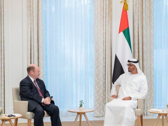 UAE: Mohamed Bin Zayed meets two US senators