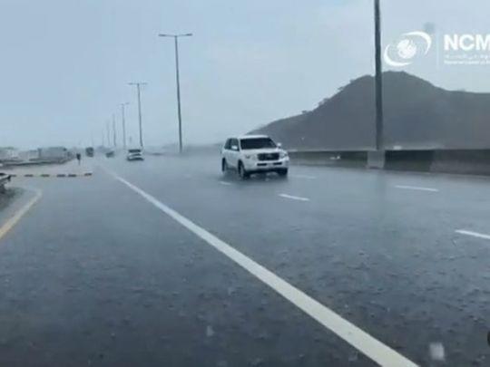 UAE weather: Rain in Fujairah, parts of Sharjah, cloudy weather in Abu Dhabi, Dubai, Ajman with warm temperatures