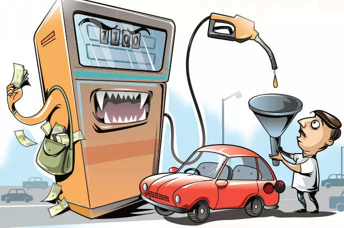 3. Why petrol should've gone down by Rs 2 but didn't