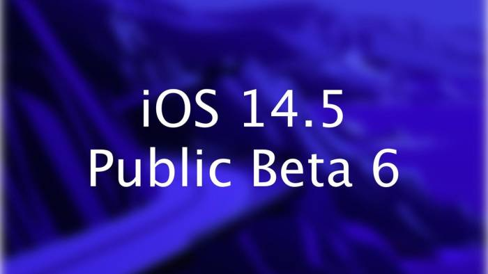 Apple is incorporating more new features into Public Beta 6 as iOS 14.5 lags further – Illinois News Today