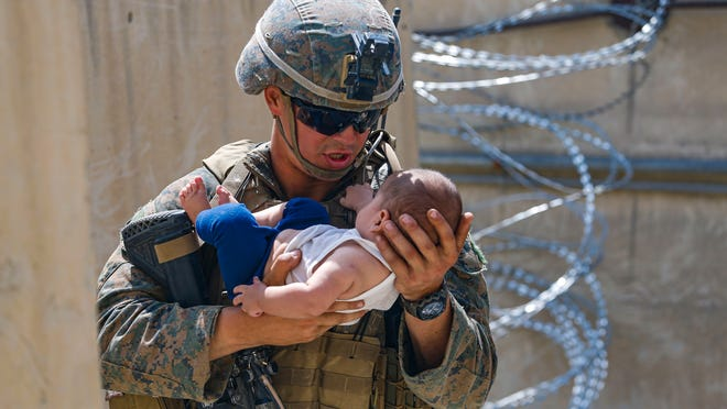 At least three babies have been born during US evacuation efforts from Afghanistan
