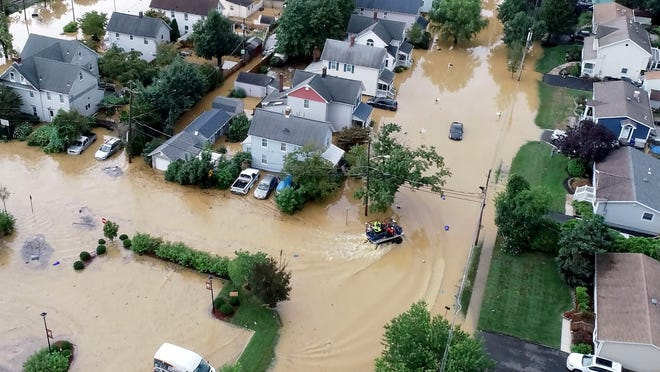 Henri stalls over Northeast, drenching region and flooding communities 'in the blink of an eye'