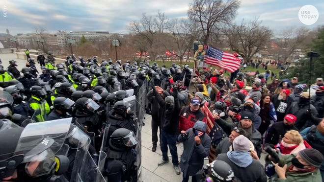 6 US Capitol police officers recommended for discipline in Jan. 6 riot ahead of 'Justice for J6' rally