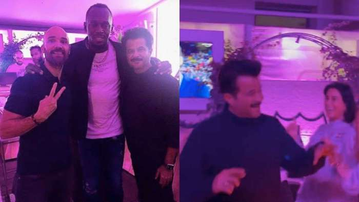 Anil Kapoor parties with Usain Bolt in Munich, shares happy photos with the sprinter and Olympic champion Mo Farah