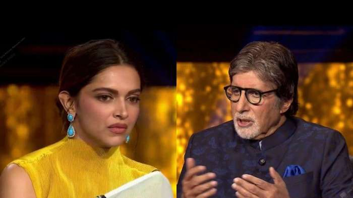 Deepika Padukone opens up to Amitabh Bachchan about her depression on 'KBC 13'