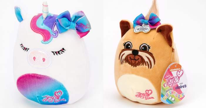 Huggable, Squishable, With a Bow on Top! These JoJo Siwa Squishmallows Are One of a Kind
