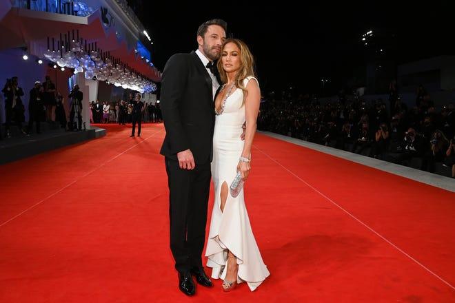 Jennifer Lopez and Ben Affleck share kiss, go red carpet official at Venice Film Festival