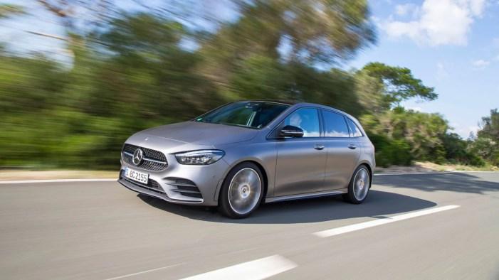 Mercedes-Benz: WLTP consumption and emission values.